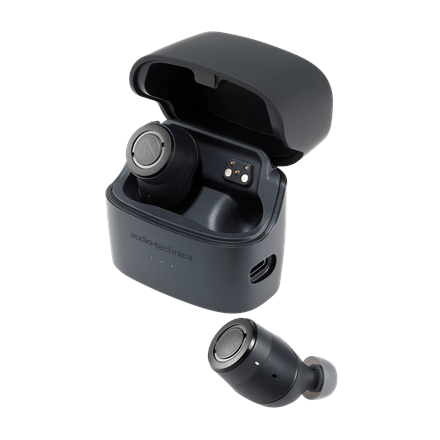 Audio Technica Wireless Headphone ATH-ANC300TW Built-in microphone  In-ear  Noice canceling  Bluetooth  Black