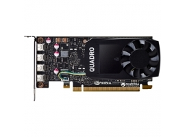 Dell NVIDIA  4 GB  Quadro P1000  GDDR5  PCI Express 3.0  4 mDP