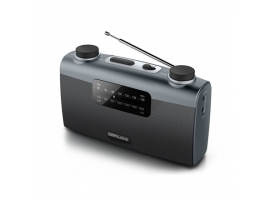 Muse Portable radio M-058R Black  AUX in