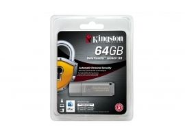 Pendrive Kingston Data Traveler Locker+G3 64GB srebrny