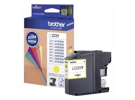 Print4you Analog Brother LC223Y  Ink Cartridge  Yellow