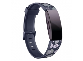 Fitbit Inspire Print Accessory Band  large  bloom