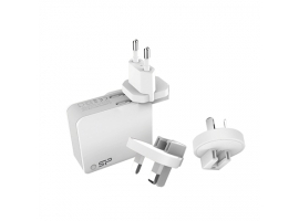 Silicon Power Boost Charger  WC102P 2 USB ports