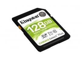 Karta SDXC Kingston 128GB SDXC Canvas Select Plus 100R C10