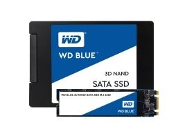 WDC WDS250G2B0B Dysk WD Blue SSD M.2 SATA 250GB SATA 600  550 525 MB s  3D NAND