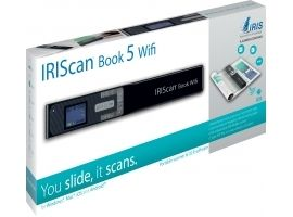 IRIS 458742 IRISCan Book 5 Wifi - 30 PPM - Battery Li-ion