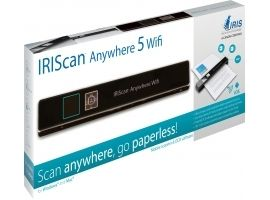 IRIS 458846 IRISCan Anywhere 5 Wifi - 8 PPM - Battery Li-ion
