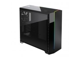 Fractal Design FD-C-VER1A-02Vector RS - Blackout Dark TG Side window  E-ATX  Power supply included No