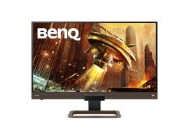 "Benq Gaming Monitor with HDRi Technology EX2780Q 27 ""  IPS  2K QHD  2560 x 1440 pixels  16:9  5 ms  350 cd m²  Metalic Grey"