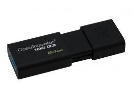 Pendrive Kingston DataTraveler 100 G3 64 GB  czarny