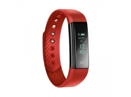 Acme Activity tracker ACT101R Steps and distance monitoring  OLED  Red  Bluetooth