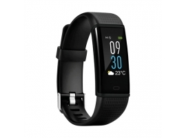 Acme Activity tracker ACT304  Connected GPS  Steps and distance monitoring  Multi-Sport Mode  Bluetooth  Waterproof  Black