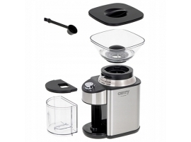 Camry Coffee Grinder CR 4443 200 W  Coffee beans capacity 230 g  Number of cups 12 per container pc(s)  Inox