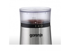 Gorenje Coffee grinder SMK150E 150 W  Coffee beans capacity 60 g  Lid safety switch  Stainless steel