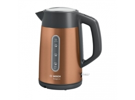 Bosch Kettle TWK4P439 Electric  2400 W  1.7 L  Stainless steel  Copper  360° rotational base
