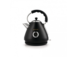 Gorenje Kettle K17CLBK Electric  2200 W  1.7 L  Plastic and metal  Black  360° rotational base