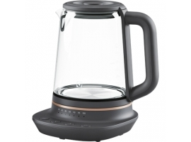 Electrolux Kettle Explore 7 E7GK1-8BP Electric  2000 W  1.7 L  Glass  360° rotational base  Black Transparent