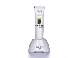 Adler Hair clipper AD 2827 Cordless or corded  Number of length steps 4  White