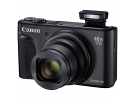 "Canon Travel Kit SX740 20.3 MP  Optical zoom 40x x  Digital zoom 4x x  ISO 3200  Display diagonal 3.0 ""  Video recording  Black"