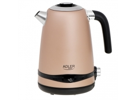 Adler Kettle AD 1295	 Electric  2200 W  1.7 L  Stainless steel  360° rotational base  Golden