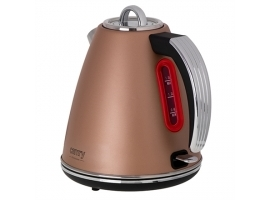Camry Kettle CR 1292 Electric  2200 W  1.5 L  Stainless steel  360° rotational base  Bronze