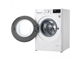 LG Washing Machine F4WN207S3E A +++ - 30%  Front loading  Washing capacity 7 kg  1400 RPM  Depth 56 cm  Width 60 cm  Display  LED  Steam function  White