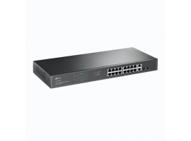 TP-LINK Switch TL-SG1218MP Unmanaged  Rack Mountable  10 100 Mbps (RJ-45) ports quantity 18  PoE+ ports quantity 16