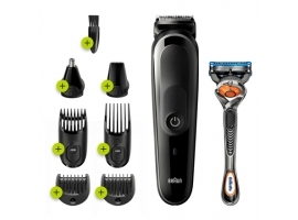 Braun MGK5260 Trimmer 8-in-1  Cordless  Operating time 100 min  Charging time 1 h  Black