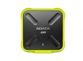 ADATA ASD700-512GU31-CYL Adata dysk SSD SD700 512GB  440 430MB s  USB3.1  yellow