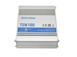 Teltonika TSW100 Ethernet Switch 5x1GbE  POE af at