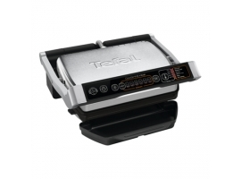TEFAL OptiGrill Initial GC706D Contact grill  2000 W  Black Stainless steel