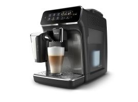 Philips EP3242 60 Espresso Coffee maker  Fully automatic  15 bar  LatteGo milk frother  Water tank 1 8 L  Coffee beans 275 g  Black