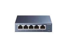 TP-LINK Switch TL-SG105 Unmanaged  Desktop  1 Gbps (RJ-45) ports quantity 5  Power supply type External