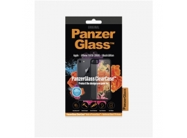 PanzerGlass Screen Protector  Iphone 7 8 se (2020)  Tempered anti-aging glass  Black Crystal Clear