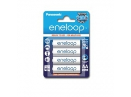 Panasonic eneloop AA HR6  1900 mAh  Rechargeable Batteries Ni-MH  4 pc(s)