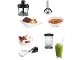 Bosch CleverMixx  MSM2650B Black   Hand Blender  600 W  Shaft material Stainless steel  Mini chopper  Material jar(s) Plastic