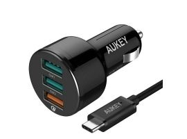 MOBILE CHARGER CAR CC-T11 3PORT LLTS65587B AUKEY