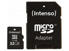 MEMORY MICRO SDHC 32GB C10 W ADAPTER 3413480 INTENSO