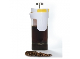 Stoneline 2in1 French Press Tea Maker 14348 0.75 L  Glass  Grey Yellow