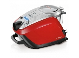 Bosch Vacuum cleaner ProAnimal BGS5335 Bagless  Dry cleaning  Power 800 W  Dust capacity 3 L  74 dB  Silver Red
