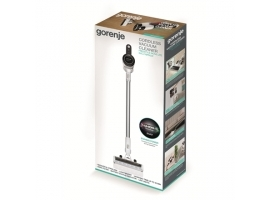 Gorenje Vacuum cleaner SVC216FMLW Cordless operating  Handstick and Handheld  21.6 V  White