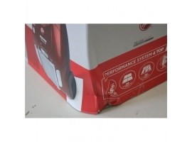 Hoover Vacuum cleaner TE70_TE75011SO Bagged  Power 700 W  Dust capacity 3.5 L  Red  DAMAGED PACKAGING