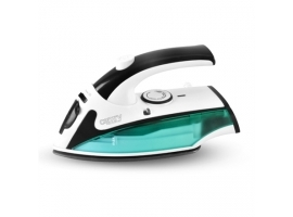 Camry CR 5024  White green black  840 W  Steam Travel iron  Vertical steam function  Water tank capacity 40 ml
