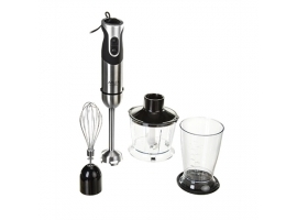 Adler Blender AD 4607 Hand Blender  1000 W  Number of speeds 2  Turbo mode  Chopper  Black Stainless steel