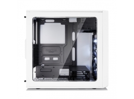 Fractal Design Focus G FD-CA-FOCUS-WT-W Side window  Left side panel - Tempered Glass  White  ATX  Power supply included No