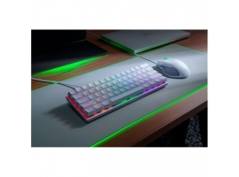 Razer Huntsman Mini  Gaming keyboard  RGB LED light  US  Mercury White  Wired