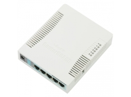 MikroTik Access Point RB951G-2HND  802.11n  867 Mbit s  10 100 1000 Mbit s  Ethernet LAN (RJ-45) ports 5  MU-MiMO Yes  Antenna type Internal