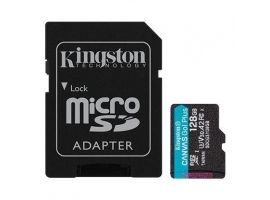 MEMORY MICRO SDXC 128GB UHS-I W ADAPTER SDCG3 128GB KINGSTON