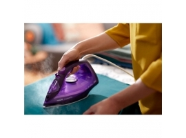 Philips Iron GC2148 30 Steam Iron  2100 W  Water tank capacity 270 ml  Continuous steam 30 g min  Purple