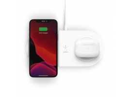 Belkin 15W Dual Wireless Charging Pads BOOST CHARGE White